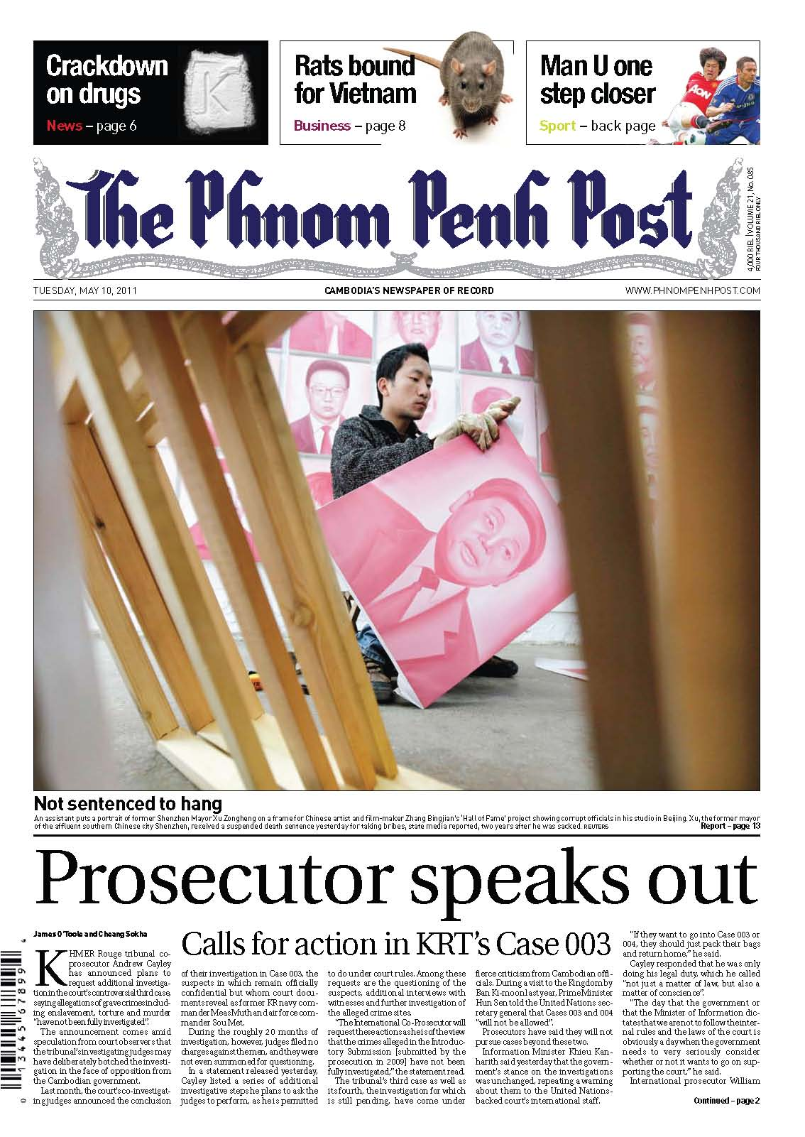 Phnom Penh Post, Case 003, 10 May 2011