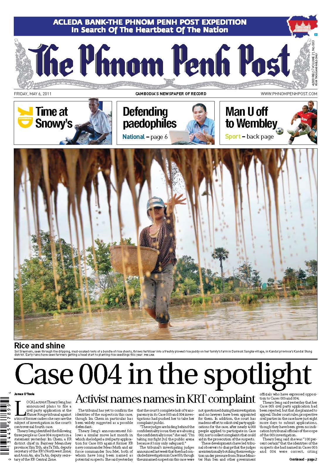 Phnom Penh Post, Case 004, 6 May 2011
