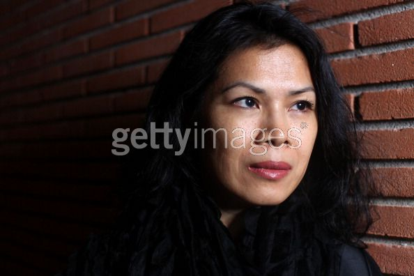 Theary Seng (photo session at International Rome Film Festival, 2 Nov. 2010)