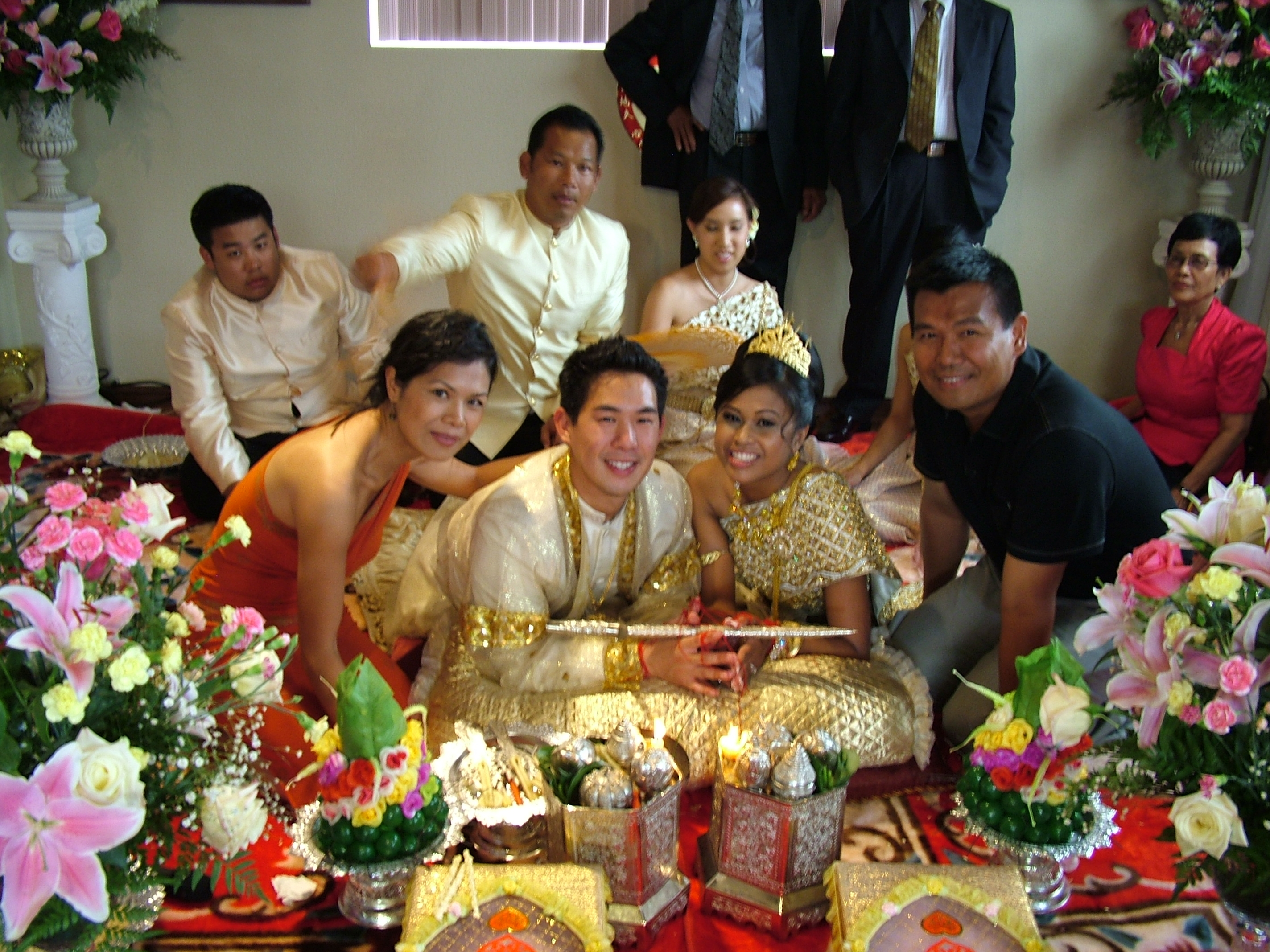 Theary Seng Donald Hok Heidi Carlos Khmer Wedding 2008