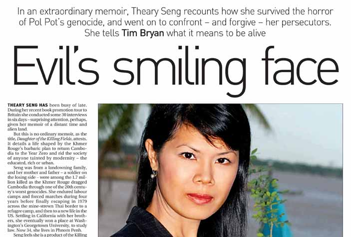 Theary Seng (South China Morning Post, 2005)